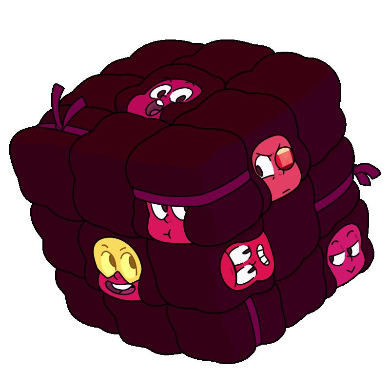 Ruby Cube | Steven Universe