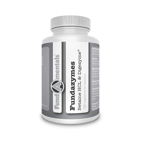 Betaine HCL & Digezyme - Fundazymes - Overload