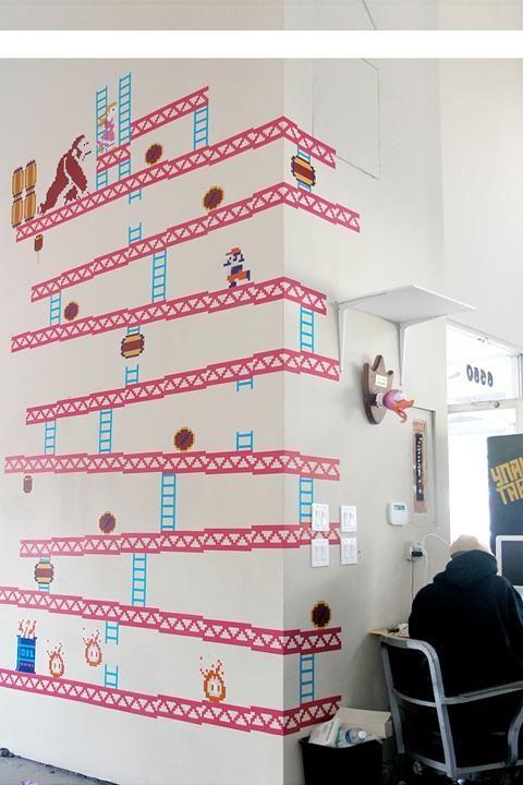 Retro Game Wall Art: Home Designs   Design, illustrations, art ...