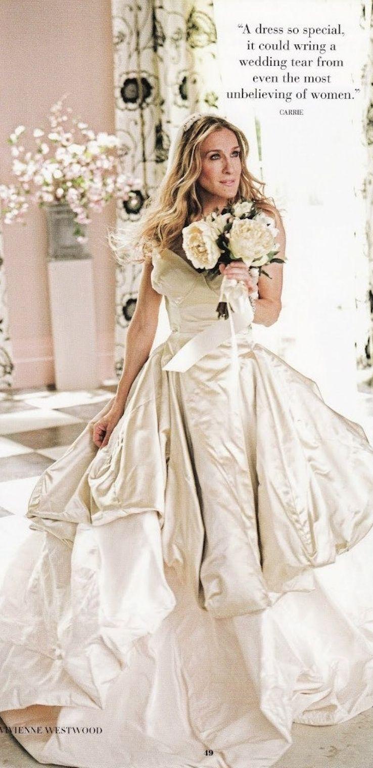 Carrie Bradshaw Wedding Dress