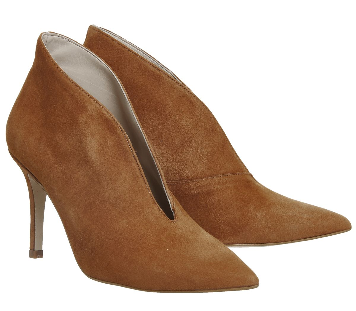Office Mojo Shoe Boots Tan Suede - Mid