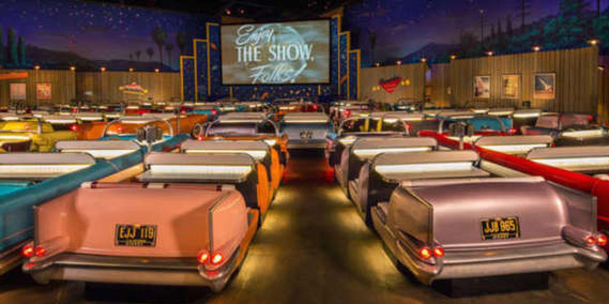 Disney world has the retro drivein theater of the future