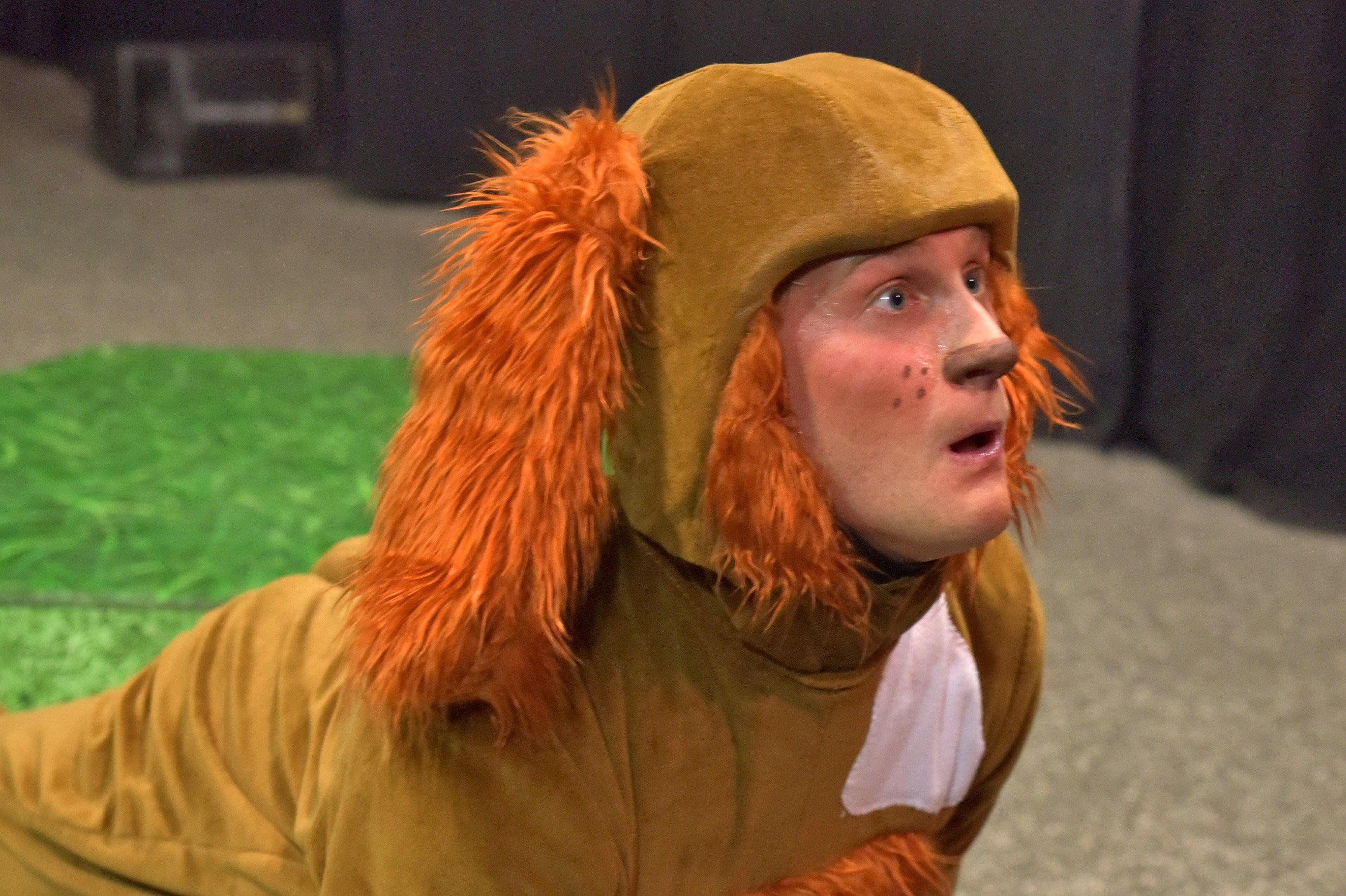 Spot the Dog. Dir: Michael Dray. White Horse Theatre 2015. Set & Costume Design Miri Birch