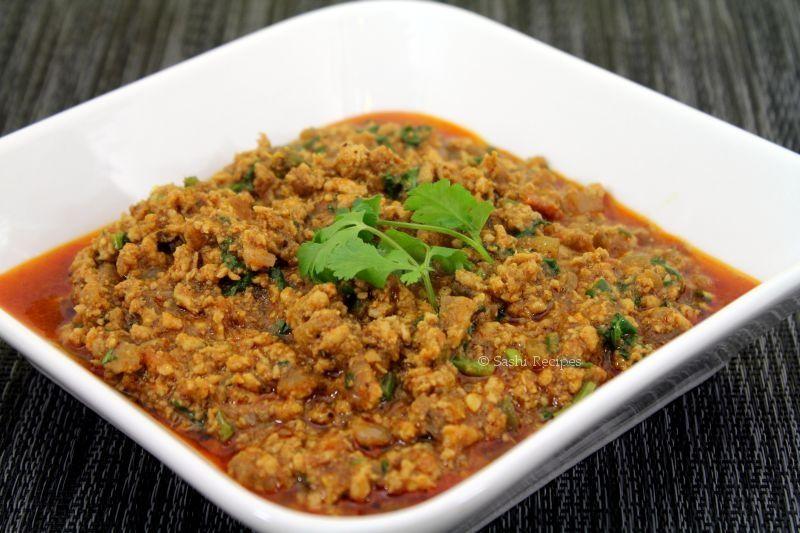 Chicken Kheema Masala Kozhi Kothu Kari Tamilnadu Style