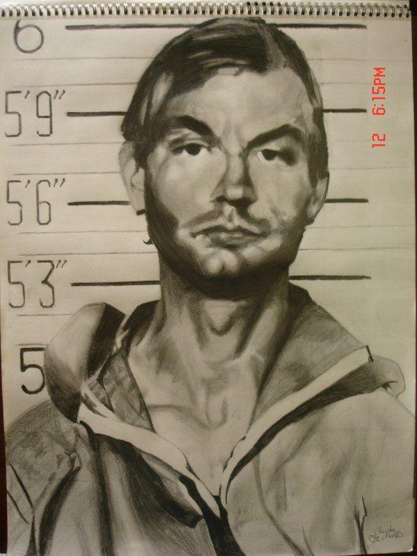 Drawing Of Jeffrey Dahmer Chloe Creepy Pasta True Crime Serial