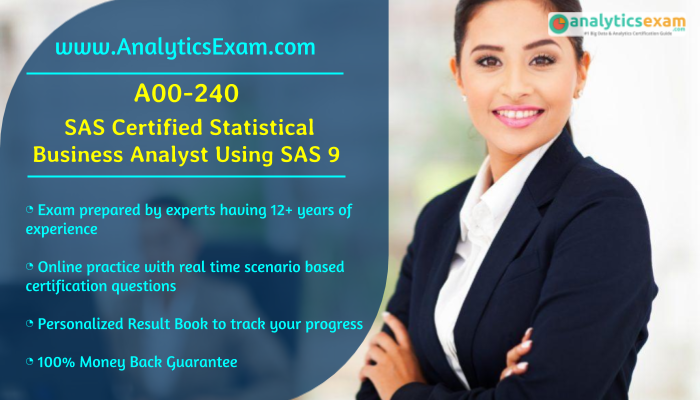 analyst exam sas statistical questions