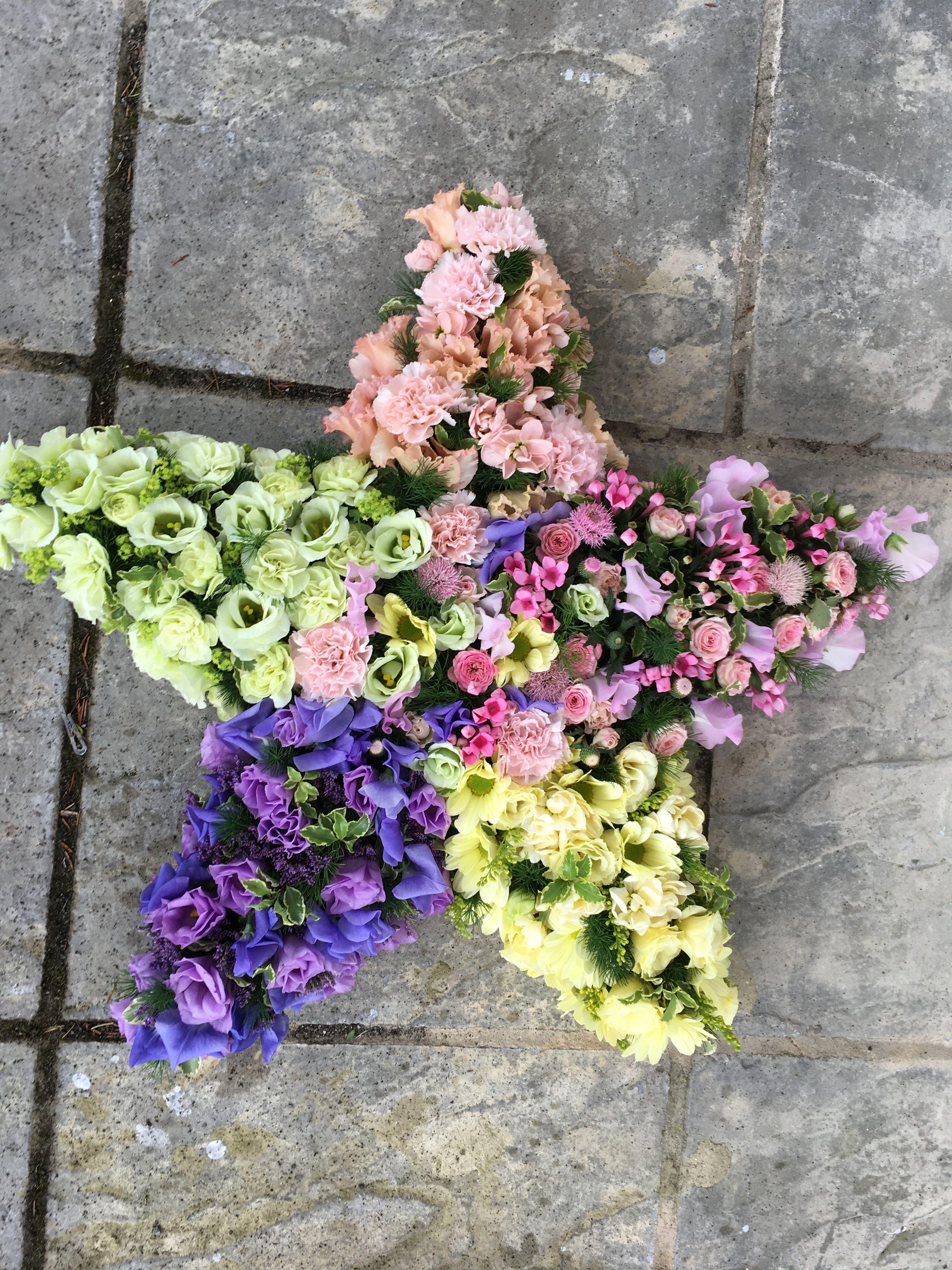 Floral Star Flowerstar Funeralflowers Ammiflowersdevizes