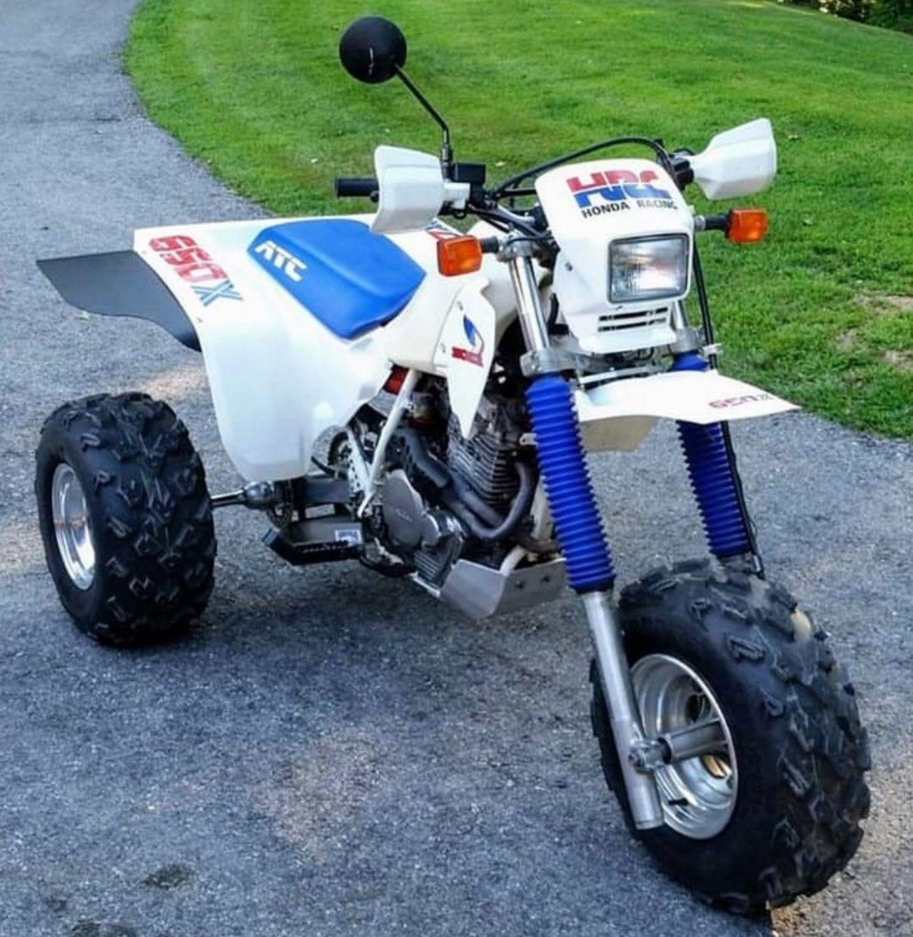Custom Street Legal Honda Atc650x Honda Motorcycles All Terrain Vehicles Honda