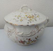 Antique LaBelle Wheeling Pottery Chamber Pot