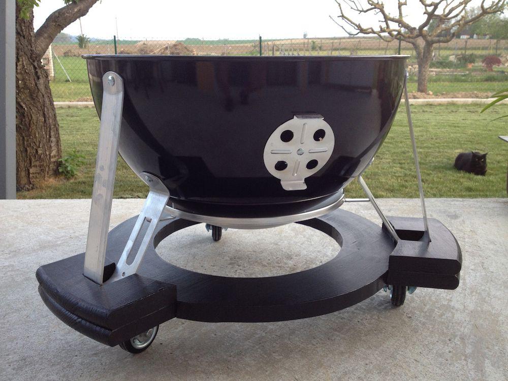8 Schritte Zum Fahrbaren Smokey Mountain Bbq Grill Smoker Water