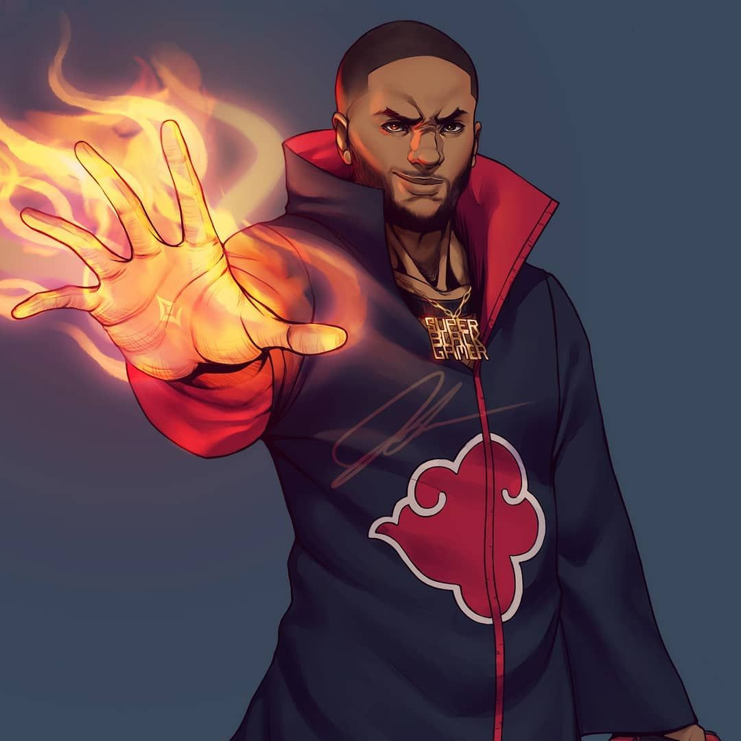 Pin By Kxng Loso On Art Black Anime Characters Anime Character
