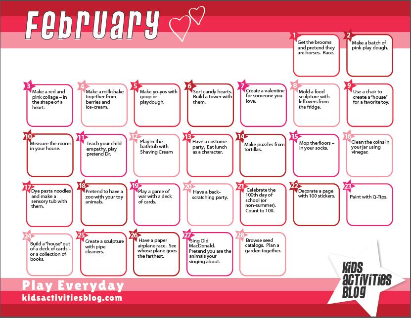 Calendar  Everyday Items Activities And Kid Activities