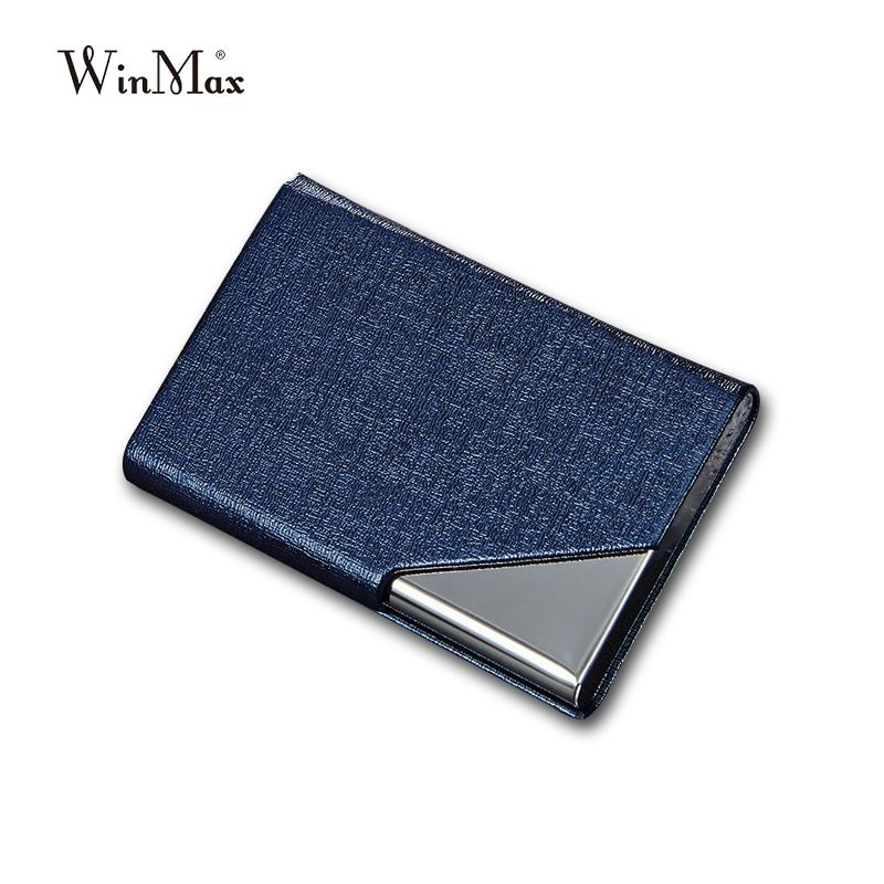 Wholesale Id Card Holder Business Card Wallet Credit Card Case Women Men Leather Waterproof Card Protector M Business Card Wallet Card Wallet Credit Card Cases