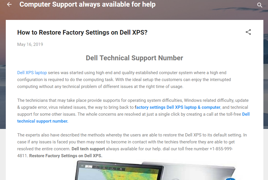 Dell XPS laptop series was started using high end and