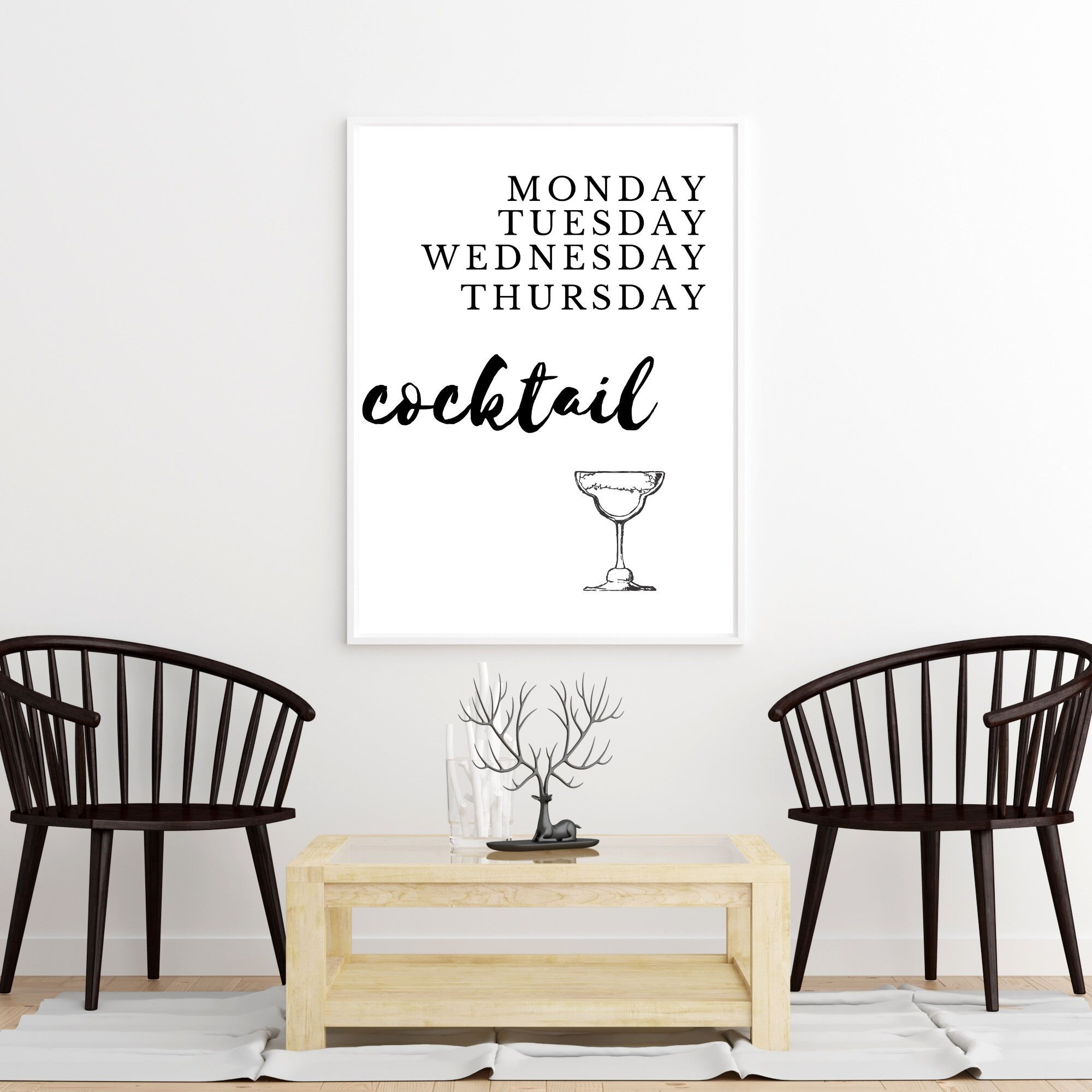 Cocktail Wall Art Quote Wall Art Printable Wall Art Digital Download Quote Wall Decor Kitchen Wall Ar In 2020 Wall Decor Printables Wall Printables Simple Wall Art