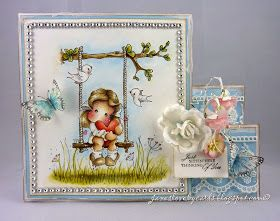 Jane's Lovely Cards : Magnolia-licious DT - Love is in the Air
