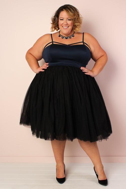 Society+ Premium Tutu - Black in 2020 | Evening dresses plus ...