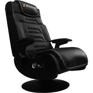 X Rocker Pro Series Pedestal Wireless 2 1 Gaming Chair Rocker Black Walmart Com Gaming Chair Gamer Chair Cool Chairs
