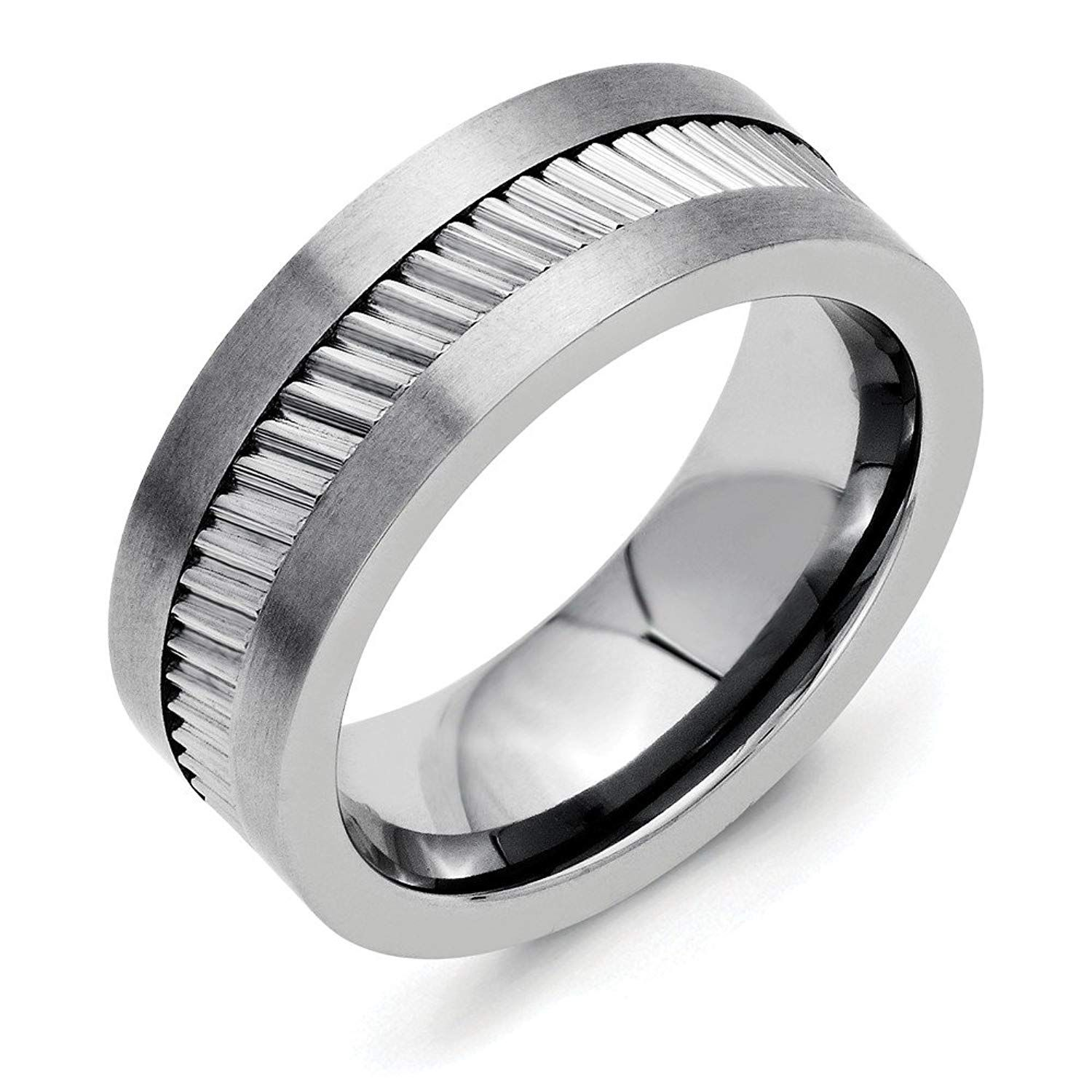 Perfect Jewelry Gift Stainless Steel Base with Sawtooth