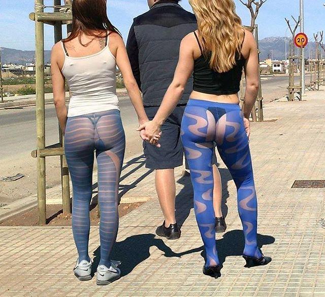 Blue pantyhose pics