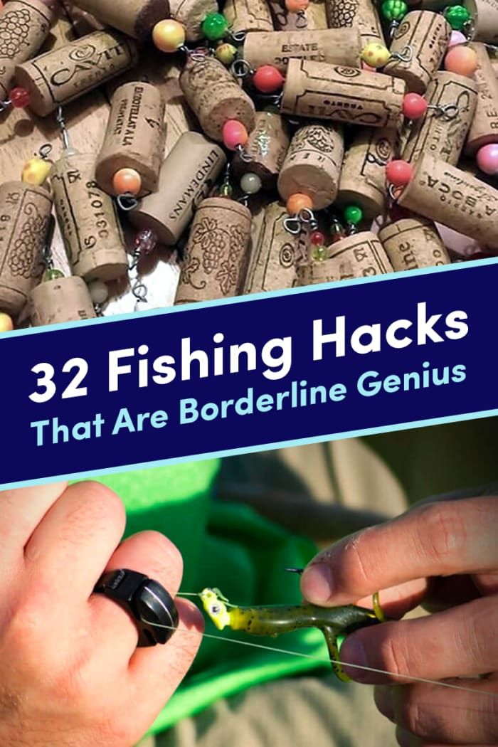 32 Genius Fishing Tips You'll Wish You'd Known Sooner ~ So many awesome ideas!!