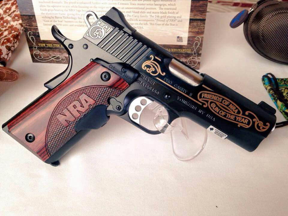 Friends of the NRA gun of the year Kimber 1911, pro carry II