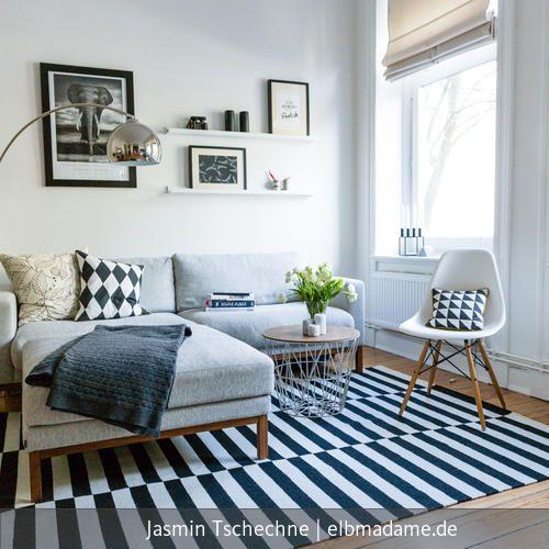 Sofaecke im Wohnzimmer | Zimmer küche, Arbeitszimmer und Hamburg