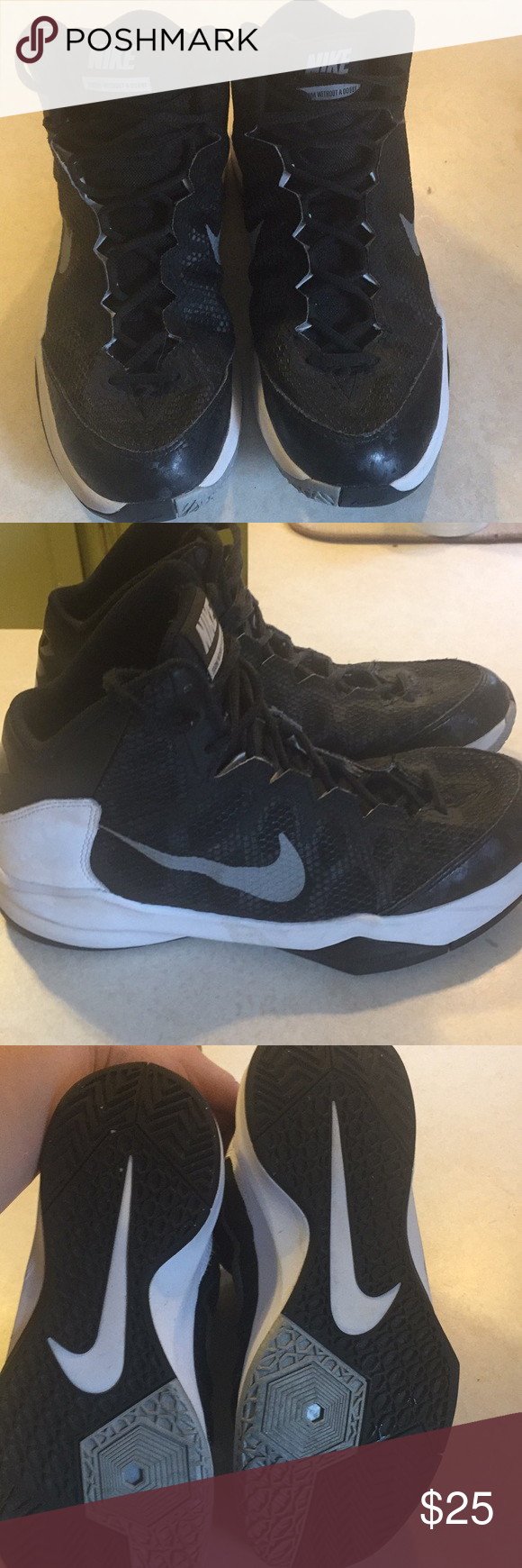 2fe9ea692690 Nike Men s Zoom Without A Doubt Basketball Shoe Nike Men s Zoom Without A Doubt  Basketball Shoe. Size  9 . In used condition but have a lot of wear left