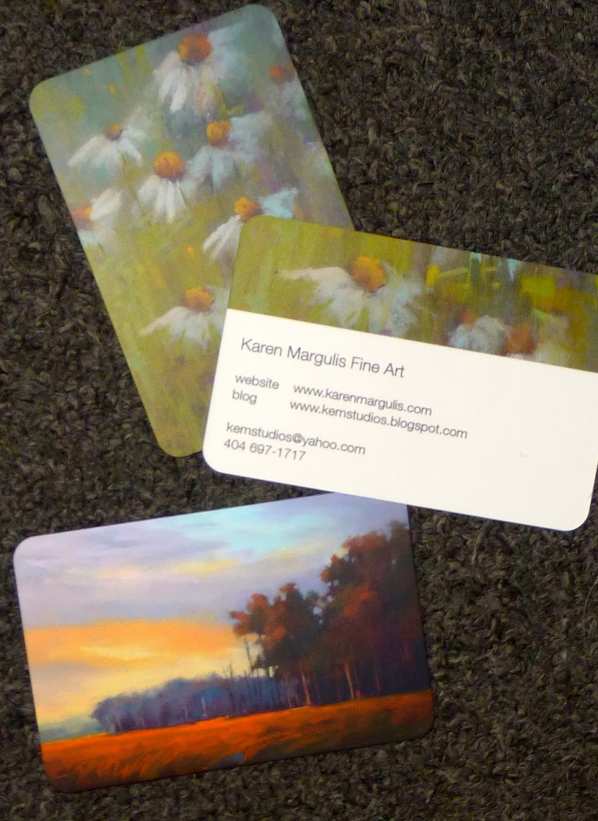 Painting My World My Review Of Moo Com Business Cards Artist Business Cards Art Business Painting