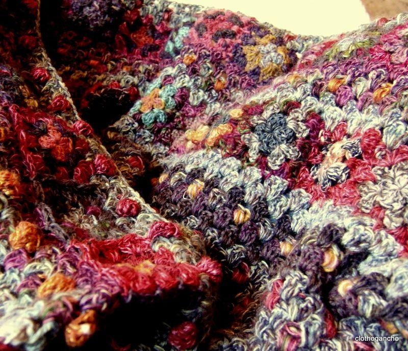 grany crochet blanket