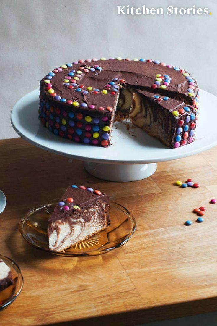 Smarties Kuchen Rezept Torten Kuchen Pinterest