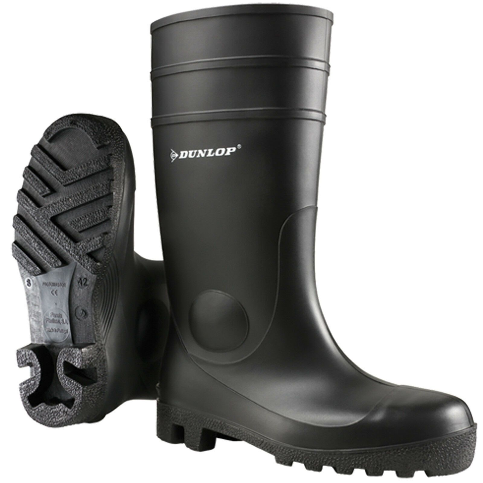 Dunlop Unisex Mens Womens Safety Wellies Boots Steel Toe