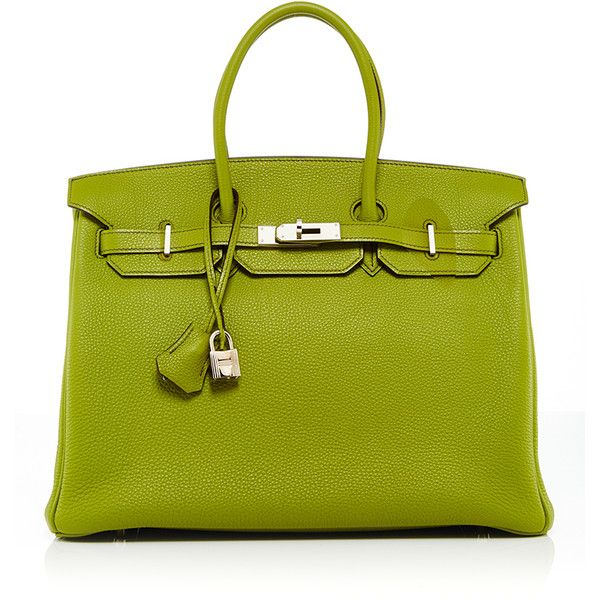 5636e5de7bf6 This   Hermes   Birkin bag curated by   Heritage Auctions Special  Collections   is rendered in Vert Anis Togo Leather and features Palladium  hardware and