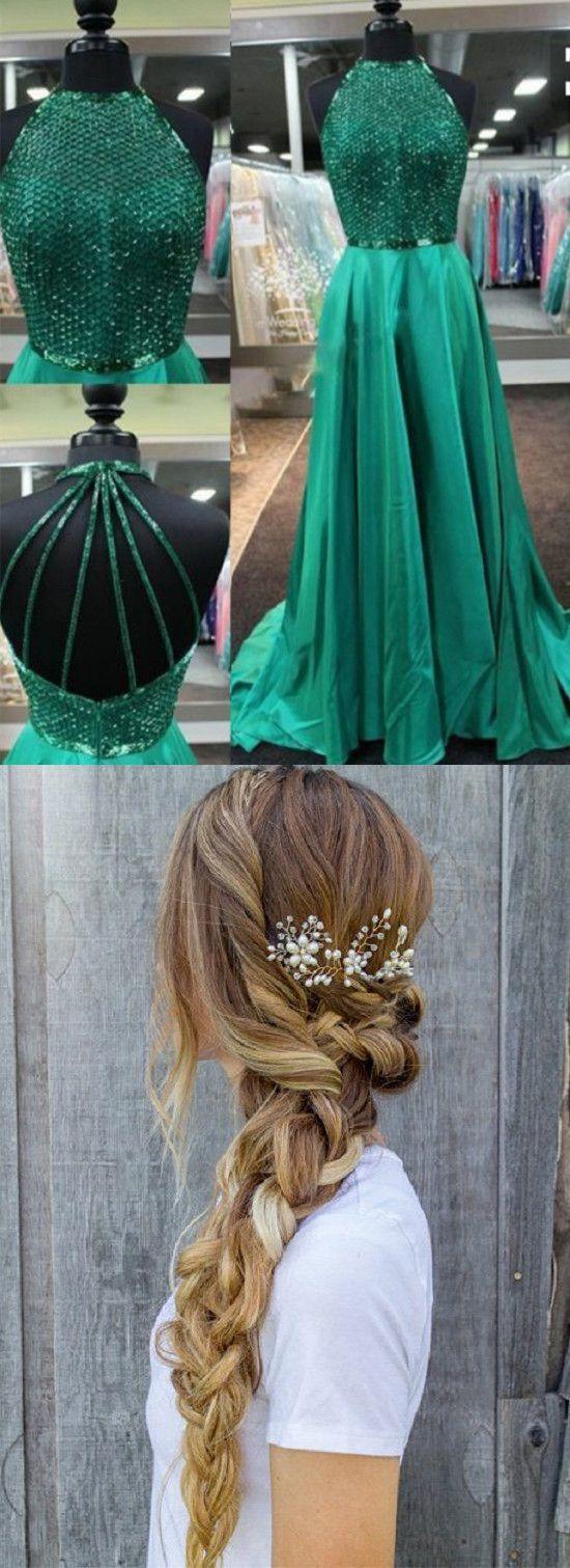 Prom dressessexy prom dressdelicate jewel sleeveless sweep train