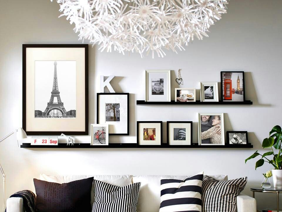 Cute display idea. Ikea