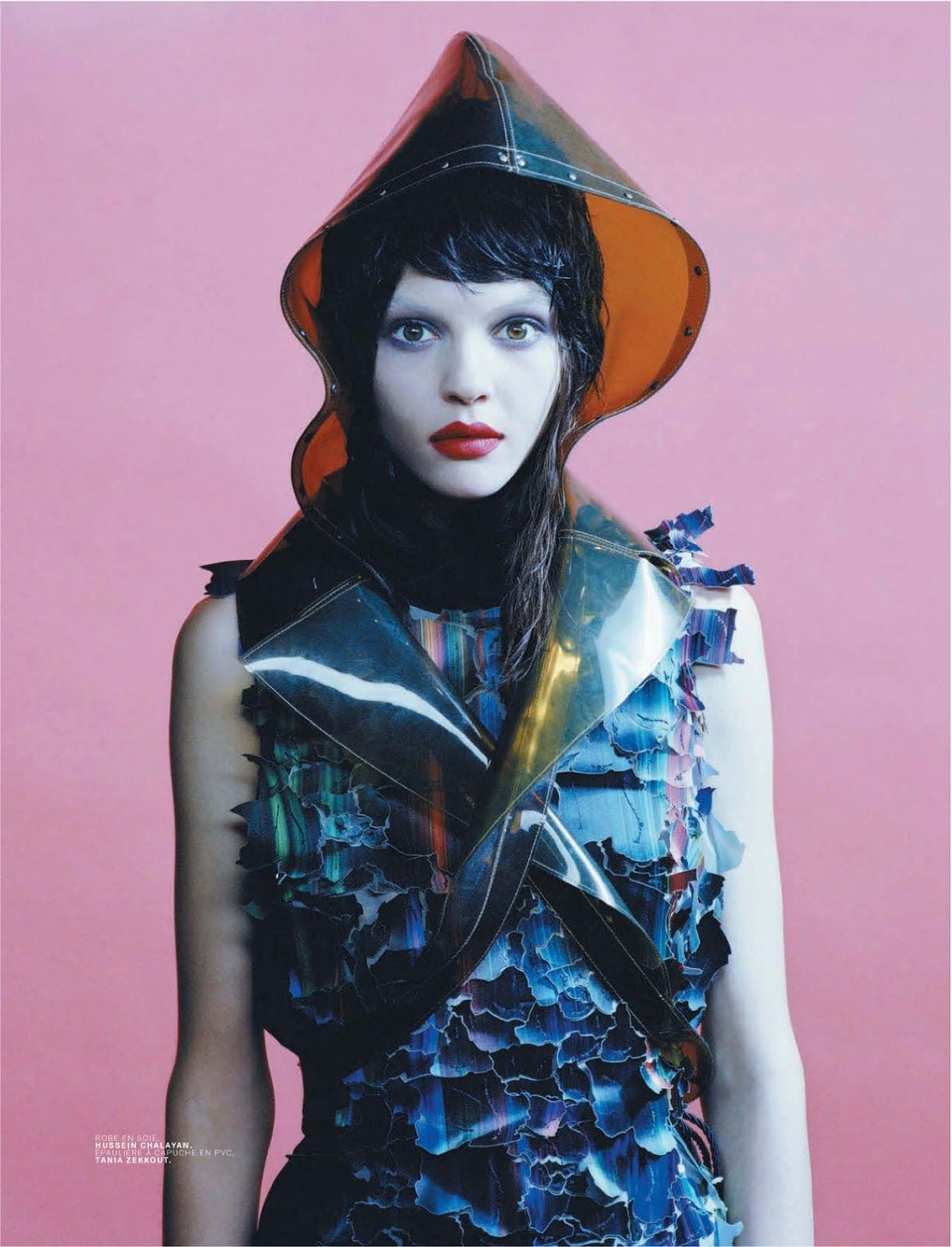visual optimism; fashion editorials, shows, campaigns & more!: black candy: kate bogucharskaia by emma picq for jalouse september 2013