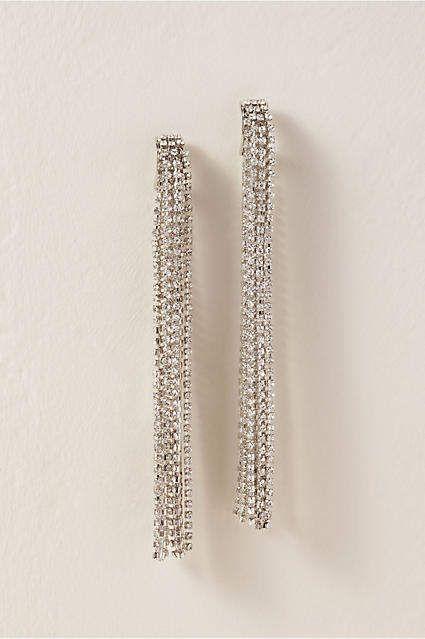 4ab0144eb Crystal Fringe Earrings in 2019 | Products | Fringe earrings ...