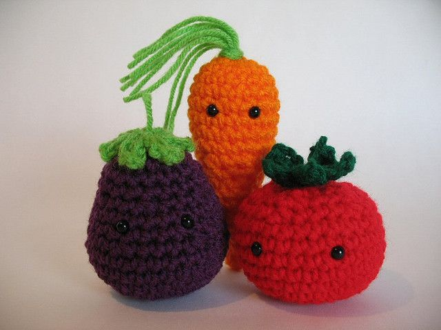 Amigurumi Vegetables : Amigurumi vegetables amigurumi patterns crochet and crochet food