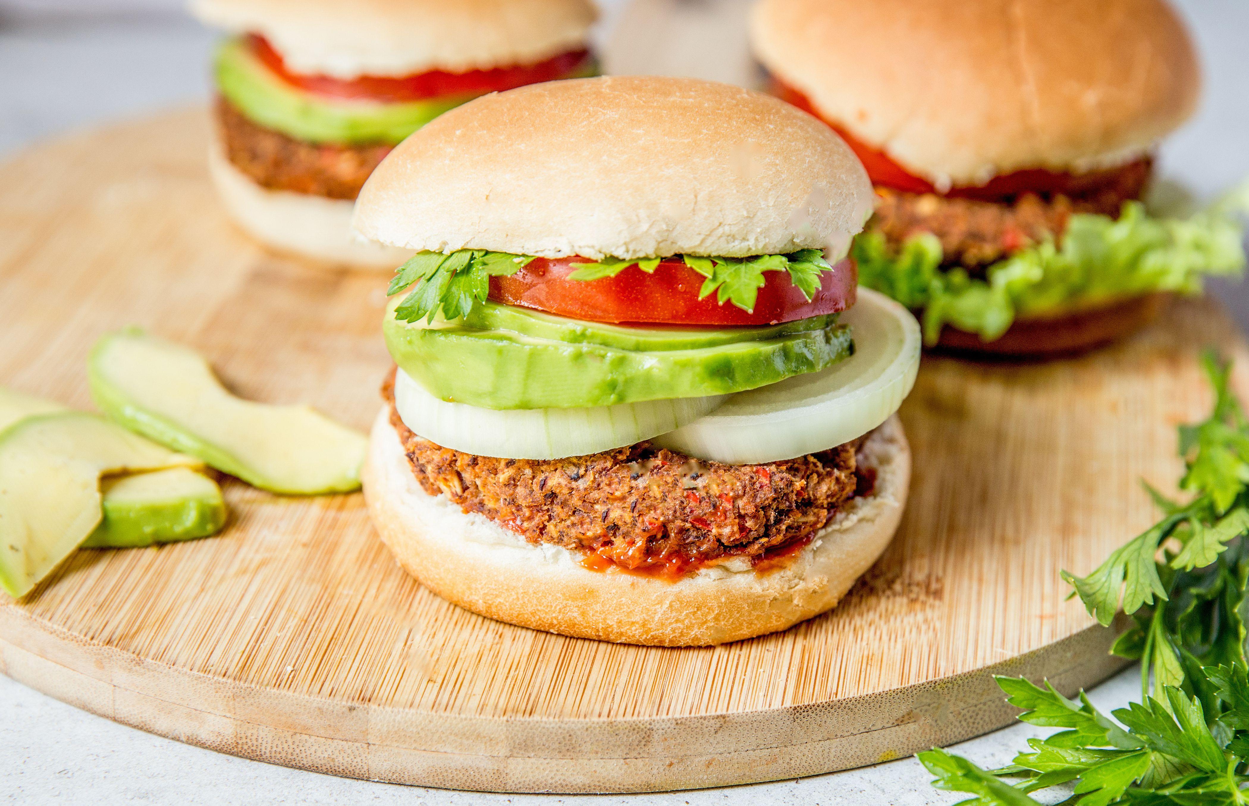 Kidney Bean And Mushroom Veggie Burger Recipe Recipe Veggie Burgers Recipe Veggie Burger Mushroom Veggie Burger