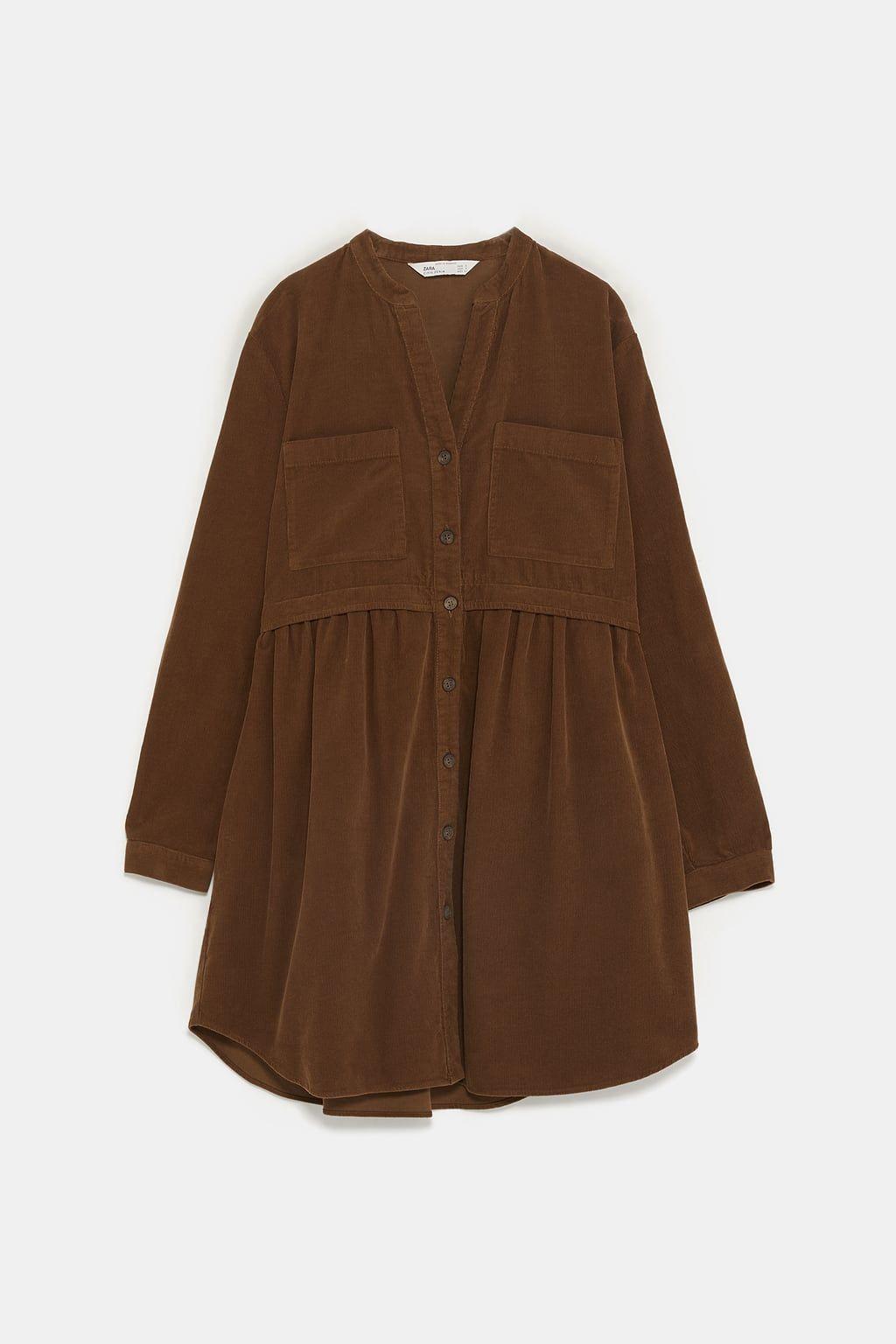 Izobrazhenie 8 Iz Plate Iz Velveta Ot Zara Corduroy Dress Muslimah Fashion Outfits Fashion Design Clothes [ 1536 x 1024 Pixel ]
