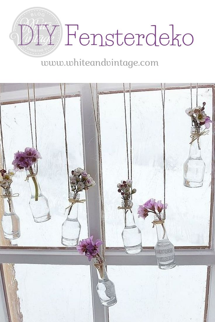 DIY Fensterdeko