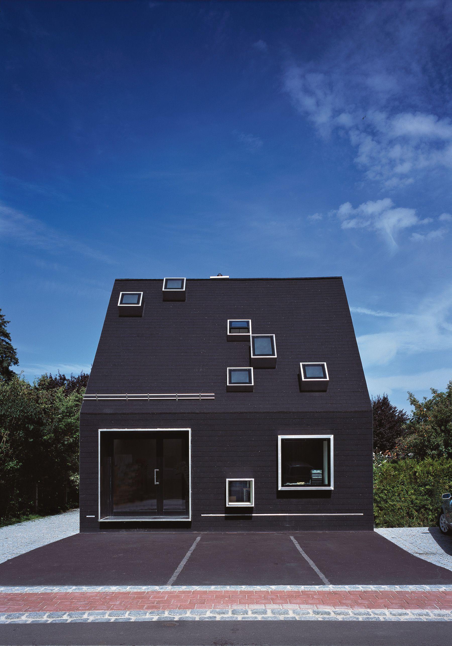 Schwarzes Haus architekten studio für architektur haimerl munich germany