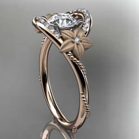 vintage style wedding ring with filigree rg 2807aq swirling