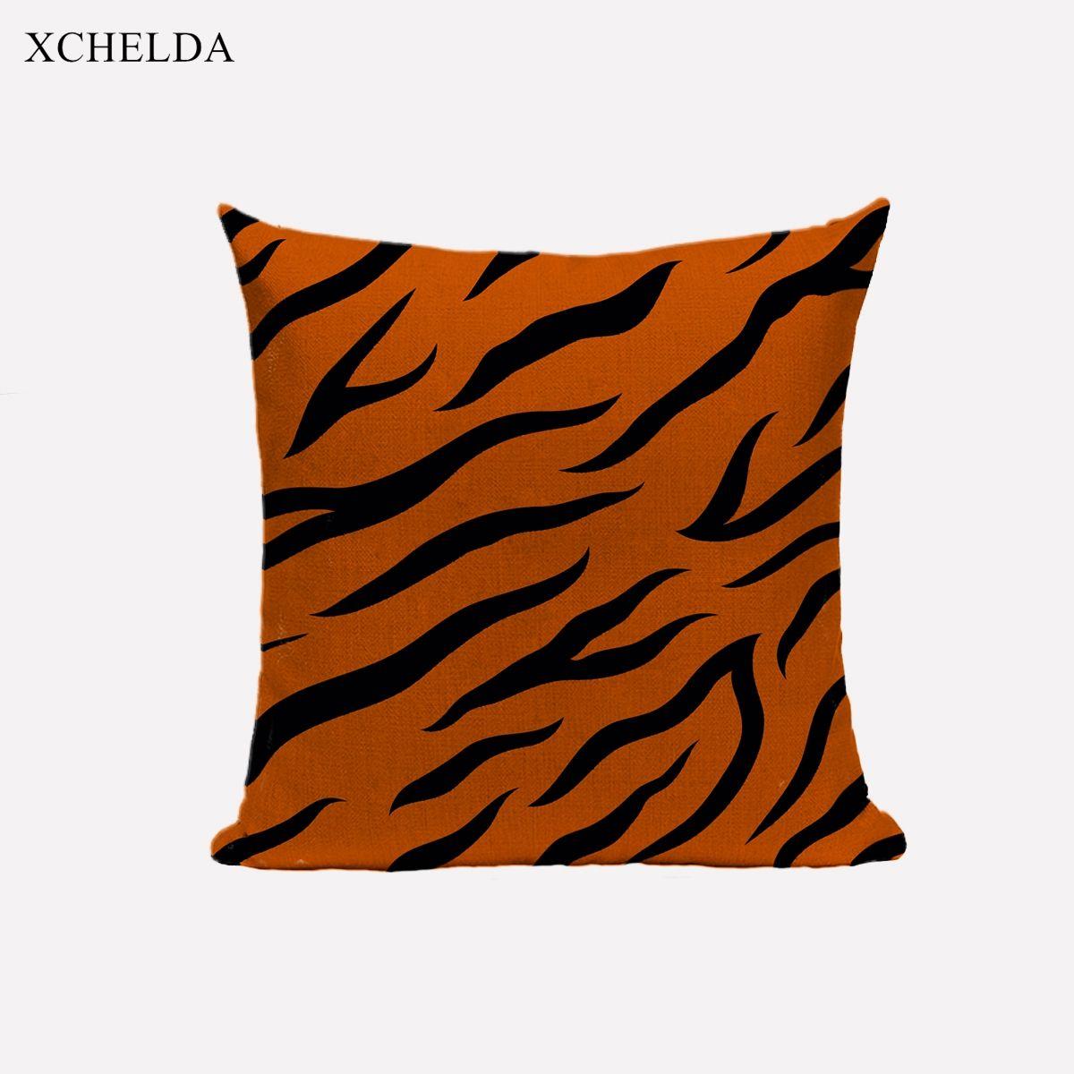 Animal skin pattern cushion cover scandinavian style