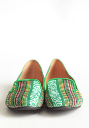walking tall tapestry loafers