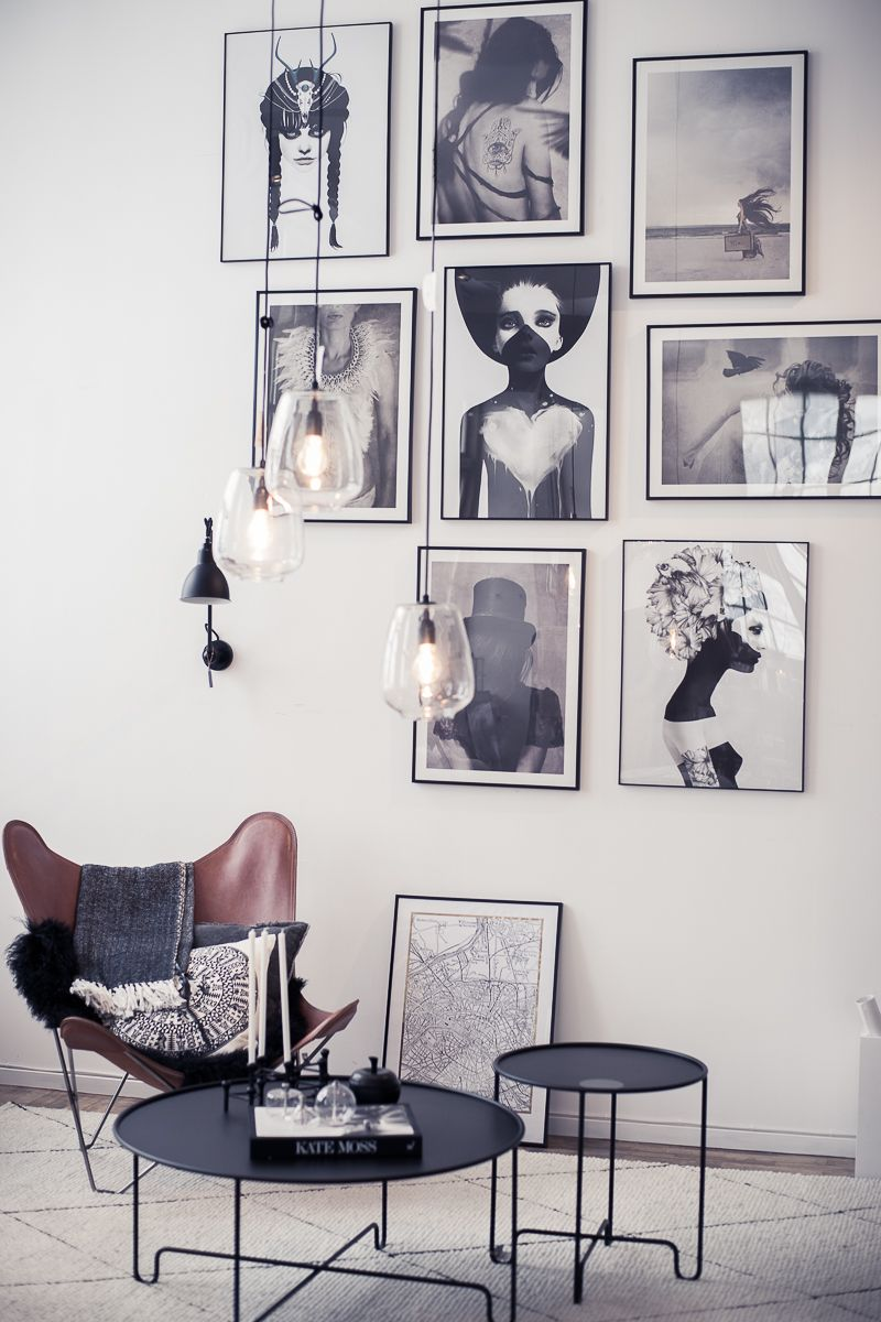 Home tiny walls of fame gallerie pinterest picture walls