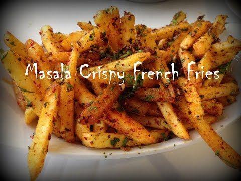 French fries recipe homemade crispy french fries recipe french fries recipe homemade crispy french fries recipe easycookingwithekta youtube forumfinder Images