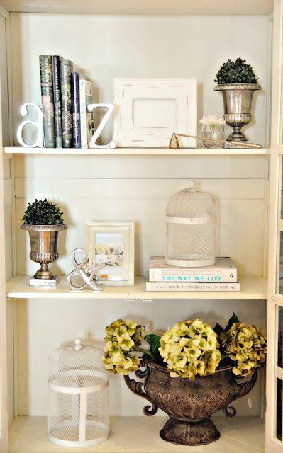 book shelf display