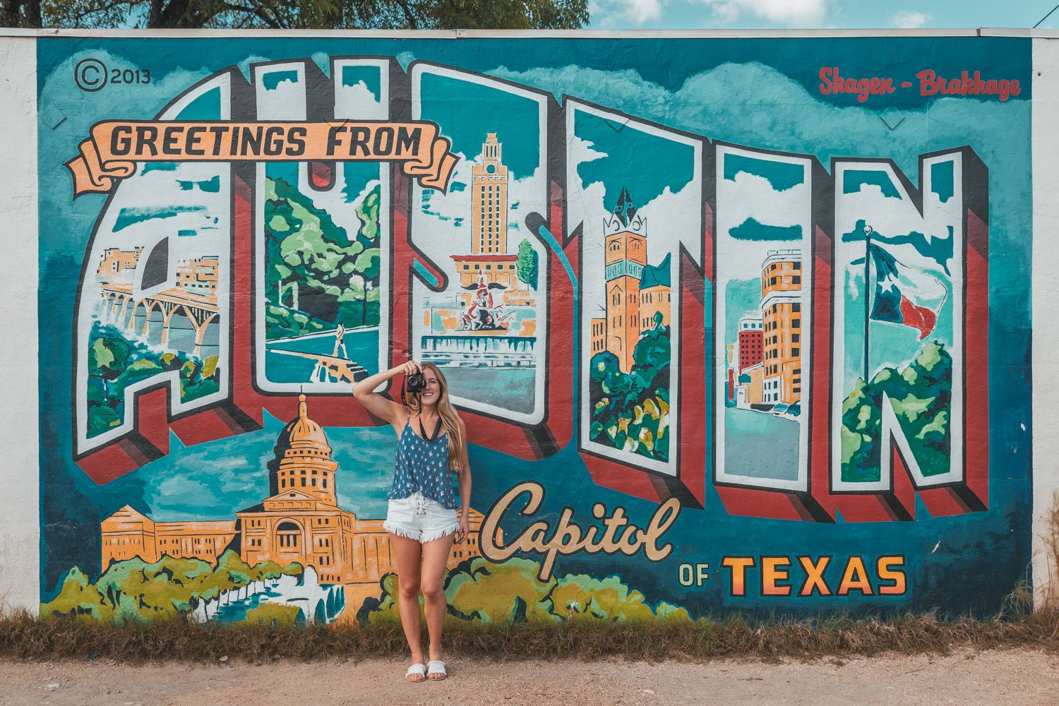 The Most Instagrammable Murals To Visit In Austin Tx With Addresses Ready Set Jet Set Street Mural Austin Murals Mural