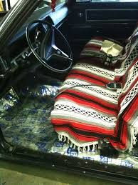 Mexican Blanket Seat Cover Travel Ideas Inspirations